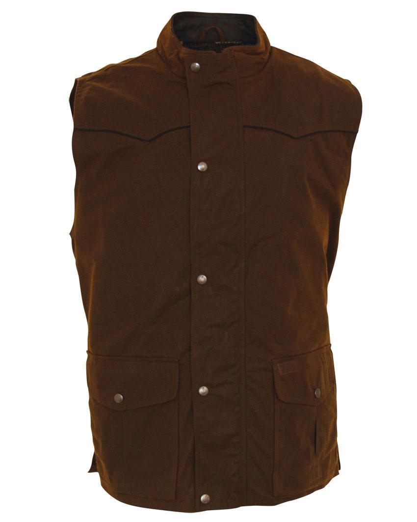 Outback Men's Oilskin Magnum Vest