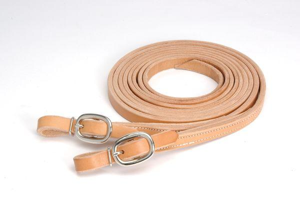 Royal King Buckled Ends Harness Leather Reins