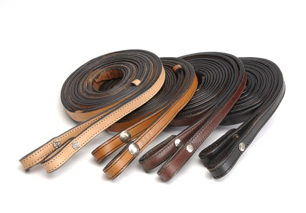 Royal King Double Leather Reins