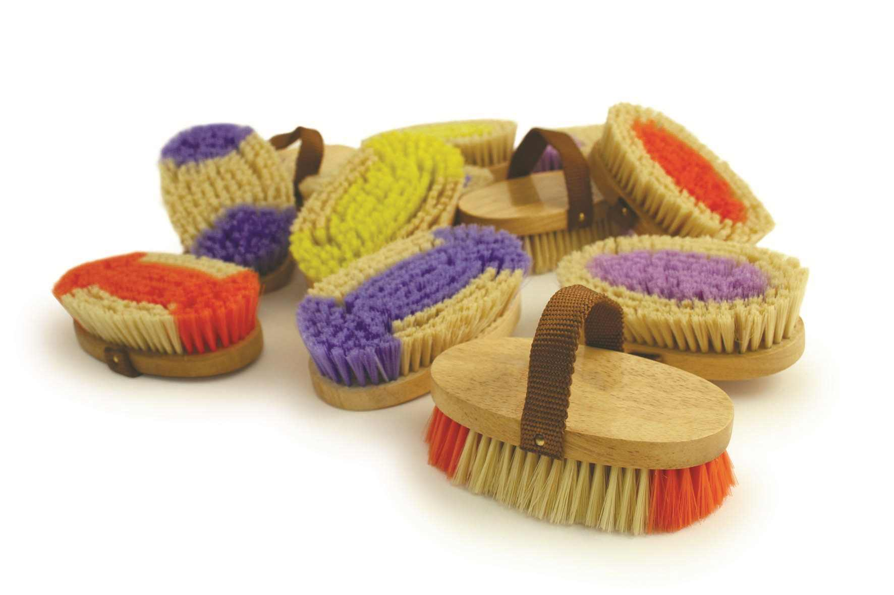 Ponyexpress Ladybug Mini-English Show Grooming Brush