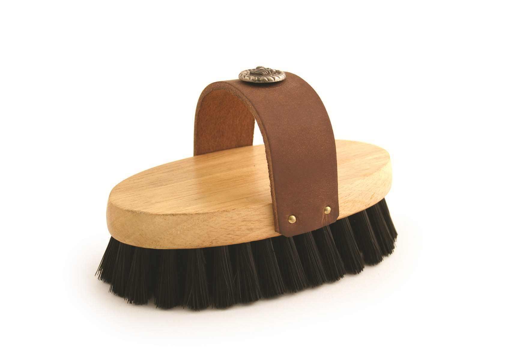 Ponyexpress Midnight Rider Western Grooming Brush