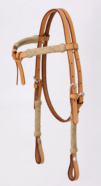 Royal King Miniature Rawhide Futurity Brow Headstall