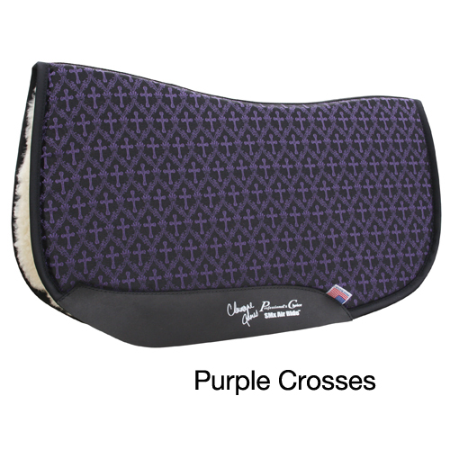 Professionals Choice Charmayne James SMX Square Barrel Saddle Pad - Crosses