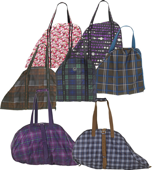Centaur Classic Plaid/Fashion Saddle Carry Bag