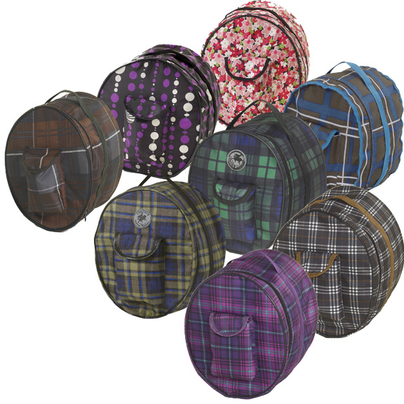 Centaur Classic Plaid/Fashion Helmet Bag
