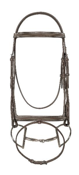 Ovation Padded Bridle with Anti-slip Reins