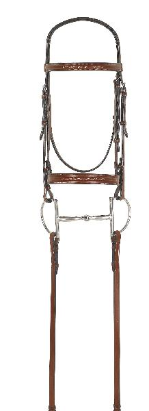 Rodrigo Fancy Inset Bridle with Reins