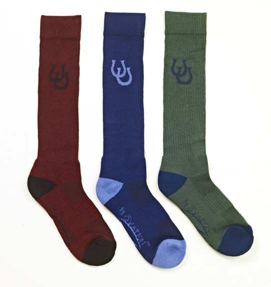 Ovation Dri-Lex Lucky Shoes Mid-Calf Socks