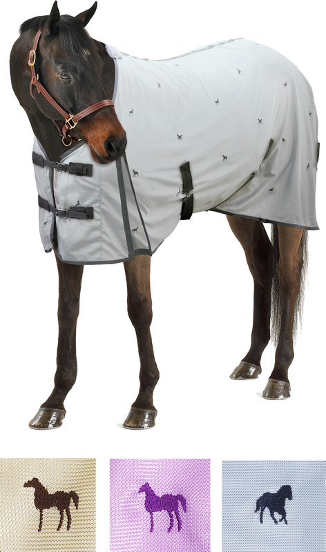 Centaur Horsey Embroidered Fly Sheet