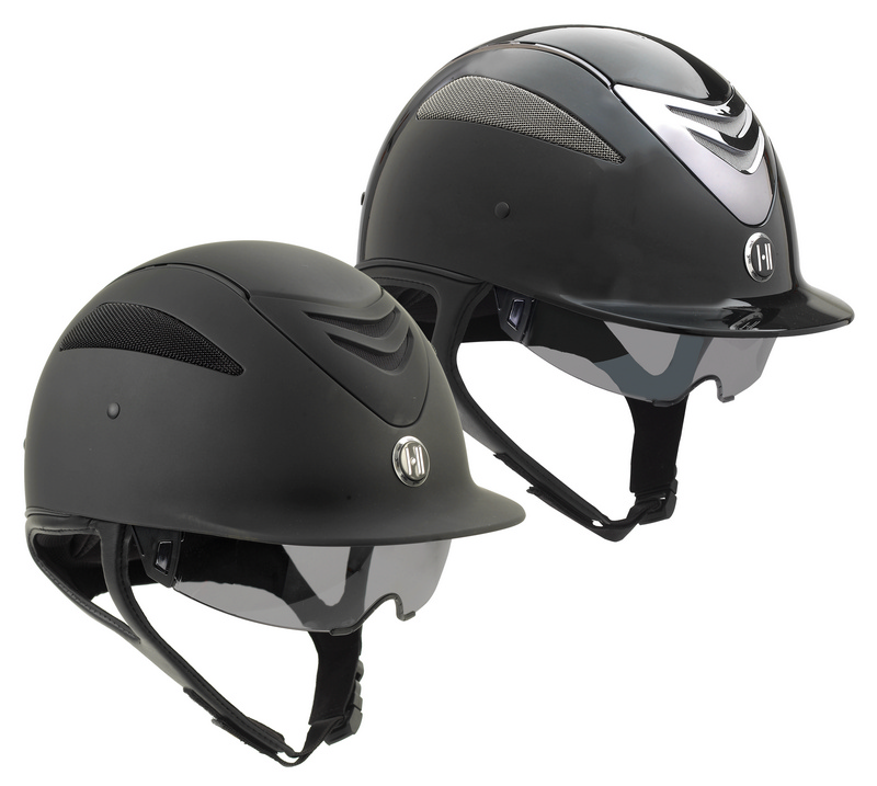 One K Defender Pro- Gloss/Matte Helmet with Retractable Sun Shield