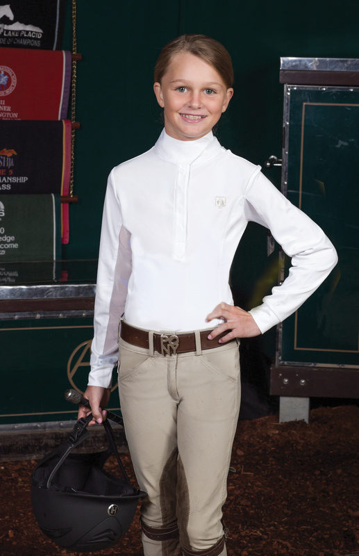 Romfh Childs Euro-Jumper Show Shirt- Long Sleeve