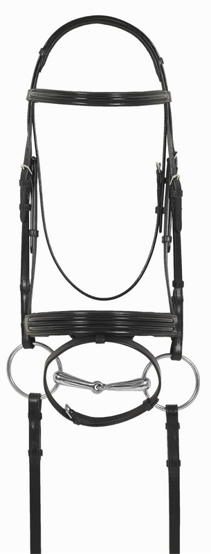 Ovation Europa Euro Dressage Patent Bridle with Crank