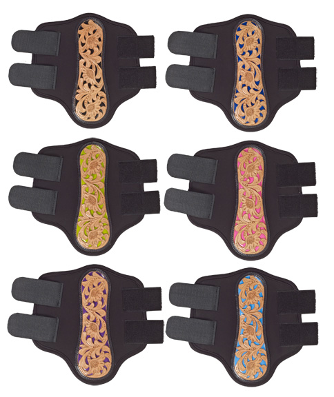 Mesquite Canyon Floral Tooled Splint Boots