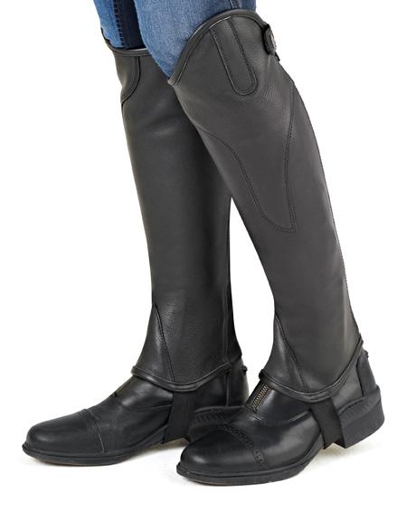 Ovation TURIN Leather Half Chaps