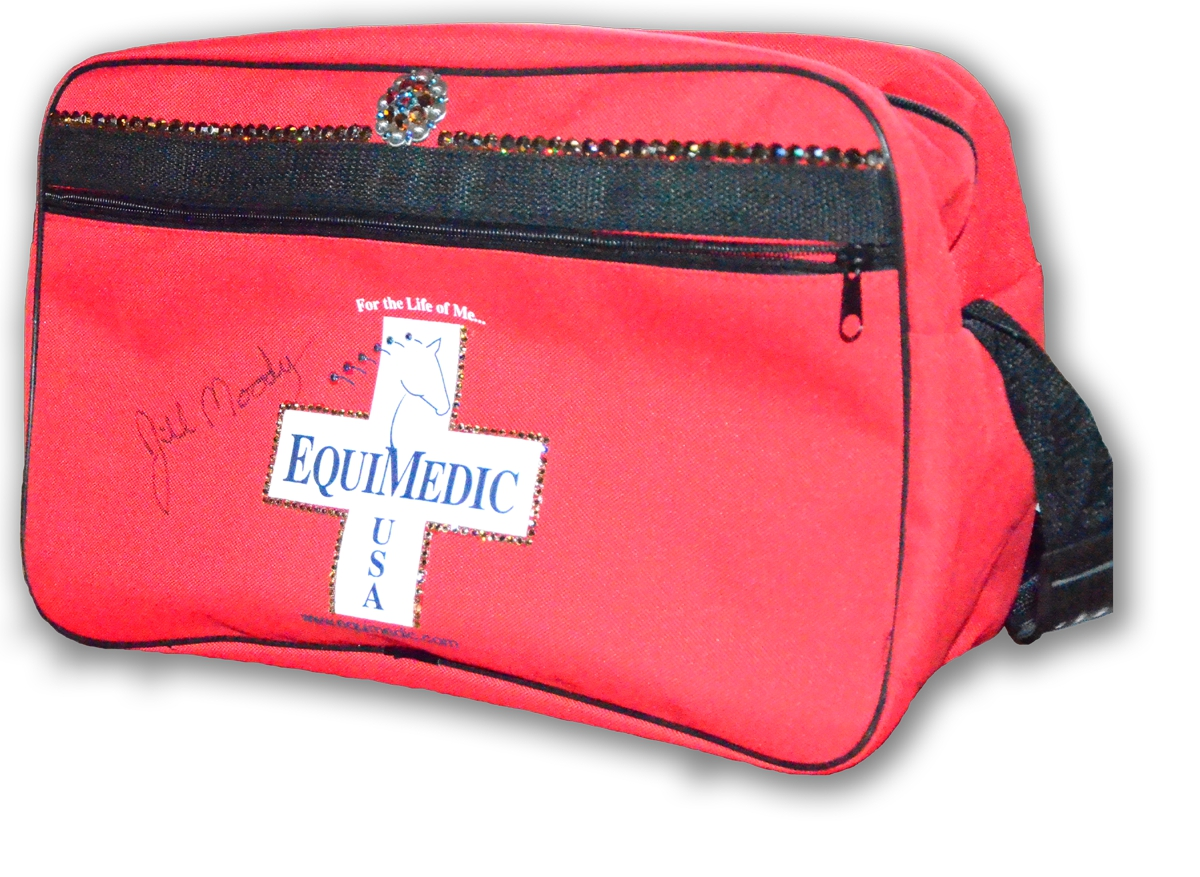 EquiMedic Blinged Small Trailering Complete First Aid Kit