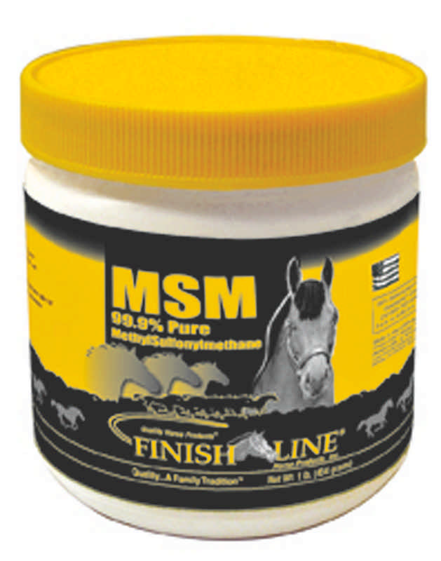 Finish Line MSM Supplement