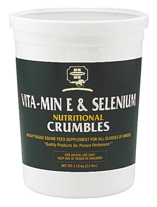 Vita-Min E & Selenium Crumbles