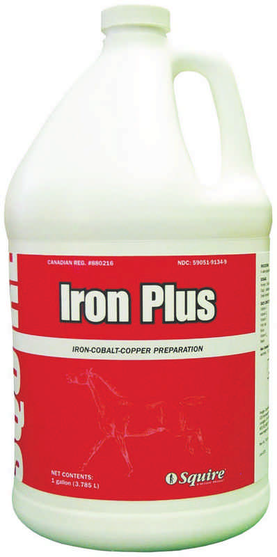 Finish Line Iron Plus Feed Supplement