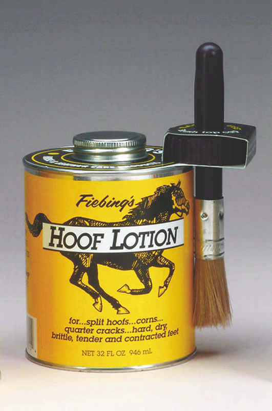 Fiebing Hoof Lotion with Brush