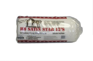 BB Satin Star Sheet Cotton Blend Bandages - 30'' x 36''