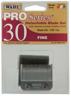 PRO Series Satin Chrome Detachable Clipper Blades