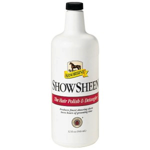 Absorbine ShowSheen Hair Polish & Detangler