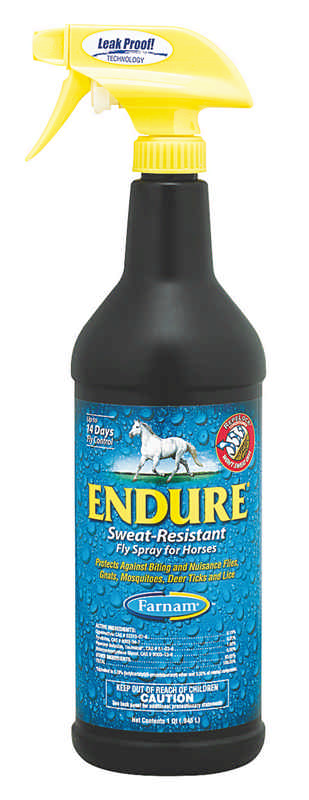 Endure Sweat-Resistant Fly Spray Sprayer