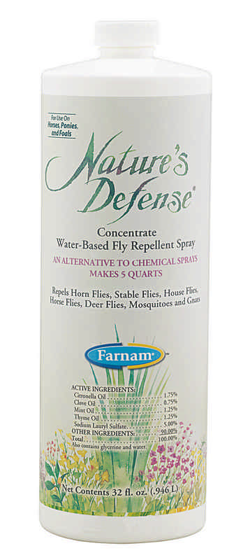 Natures Defense Fly Repellent Spray