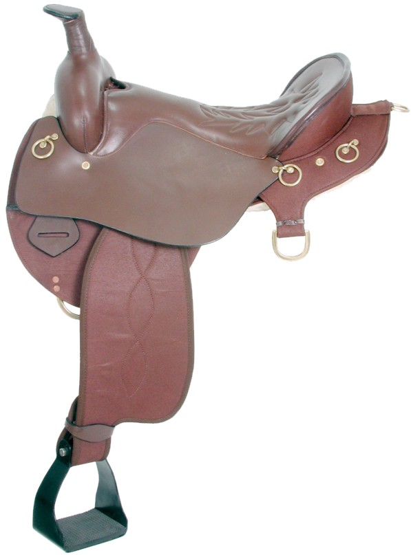 Trekker Neutron Endurance Saddle with Horn