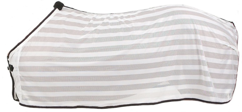 Tough-1 Lightweight Fly Scrim Sheet-White with Black Tri