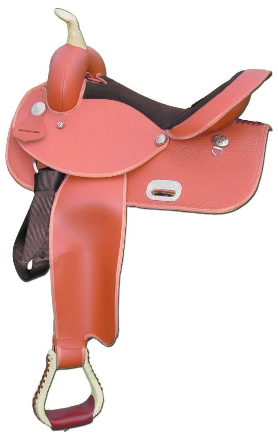 Lami-Cell Barrel Racing Saddle