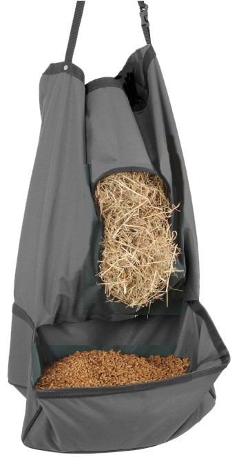 Vinyl Coated Canvas Hay & Grain Feeder Tote