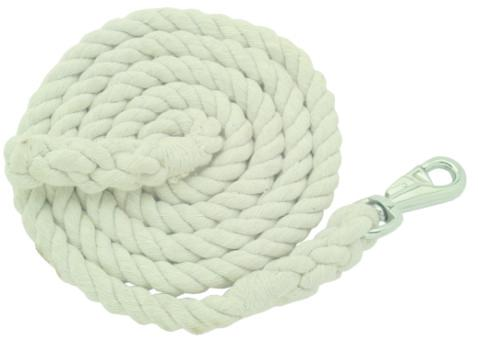 Gatsby Thick Cotton 10' Lead with Bull Snap