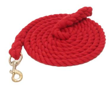 Gatsby Thick Cotton 10' Lead with Bolt Snap