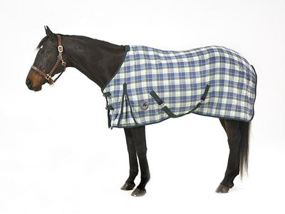 Centaur EZE Care Plaid Sheet
