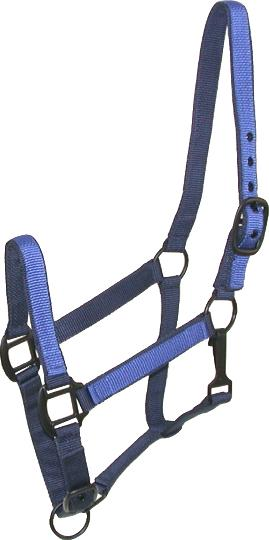 Gatsby Nylon Halter with Overlay