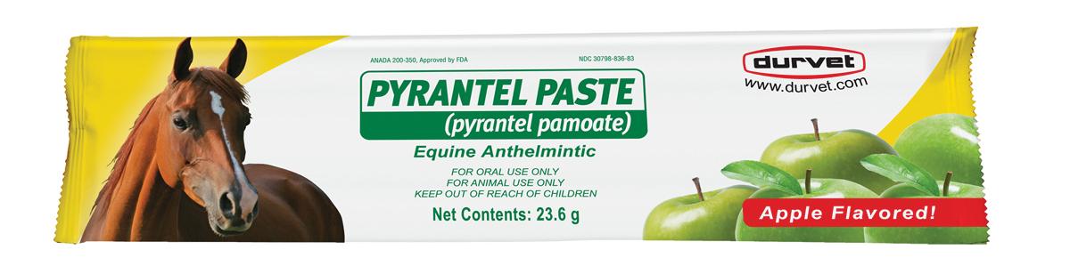 Durvet Pyrantel Paste Dewormer - 1200 lbs