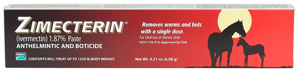 Zimecterin Paste Horse Dewormer