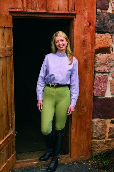 OPEN BOX ITEM: TuffRider Ladies Country Figurefit Breeches