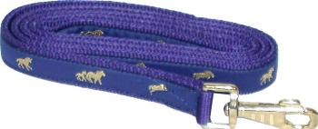 Gatsby Gold Running Horse Overlay Lead with Snap