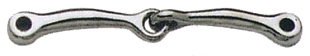 STA-BRITE SS Snaffle Mouth for Interchangeable WH Bit