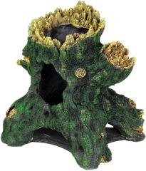 Hollow Tree Stump JUMBO Aquarium Ornament