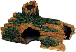 Hollow Log Extra-Large Aquarium/Terrarium Ornament