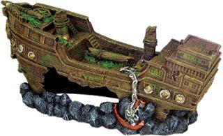 Shipwreck Extra-Large Aquarium Ornament