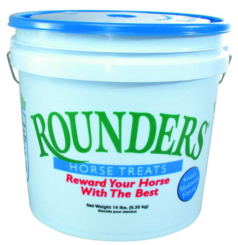Rounders Horse Treat Bucket