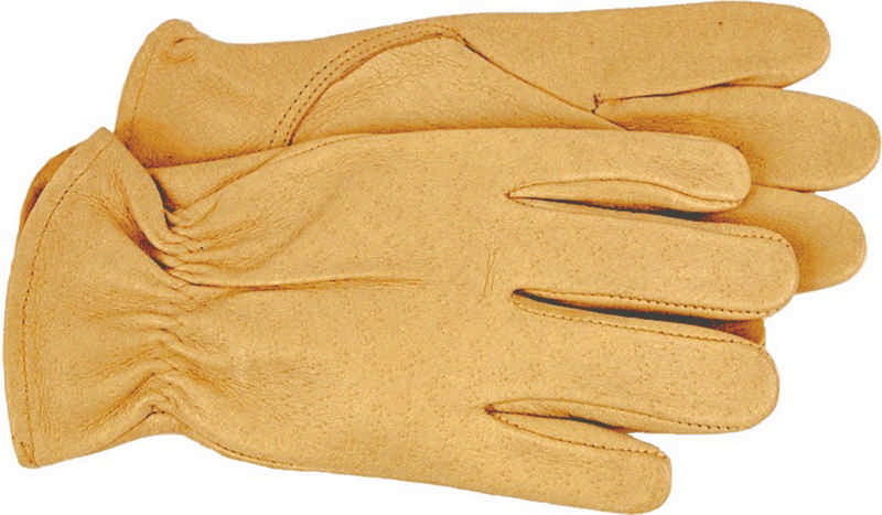 Unlined Leather Gardening Gloves