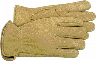 Unlined Deerskin Gardening Work Gloves