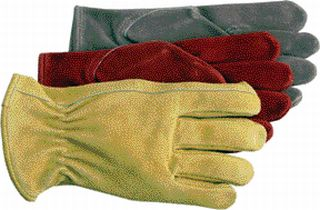 Three Pairs of Ladies Split Leather Work gloves