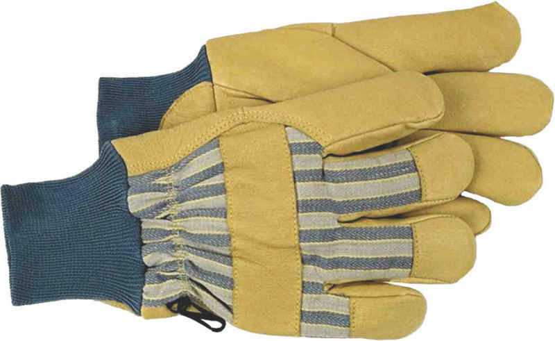 Lined Pigskin Outdoor Work Gloves