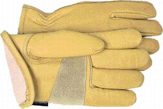12 Pair - Leather Thinsulate Lined Outdoor Gloves